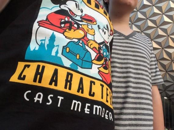 cool Disney Cast Member exclusive t-shirt
