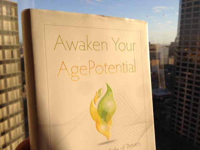 Lori Campbell, Gerontologist, best selling book, Awaken Your AgePotential