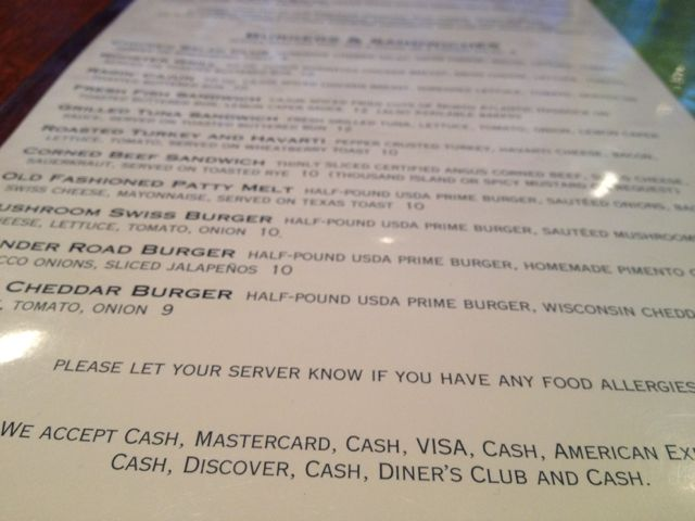 photo f clever restaurant menu payment methods