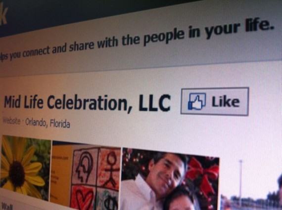 Mid Life Celebration Facebook Fan Page