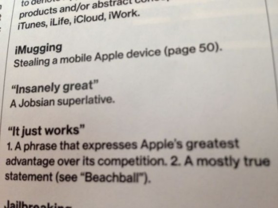 Steve Jobsian: Insanely great!
