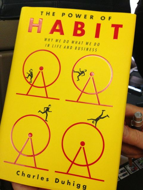 A new book about habits