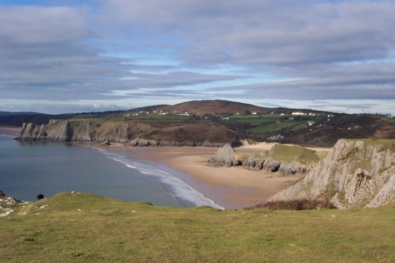 Pennard Beach (photo: Lorie Sheffer)