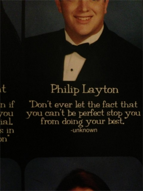 2013 High School yearbook picture quotes