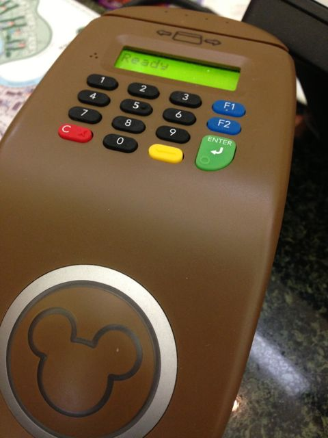 Disney's MagicBand technology used at Front Desk
