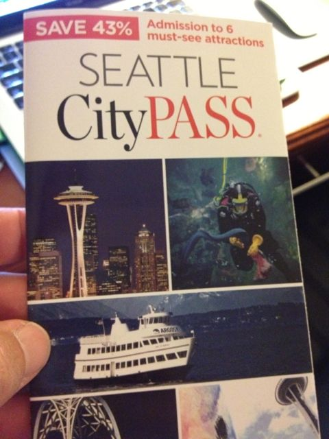 Seattle City Pass booklet