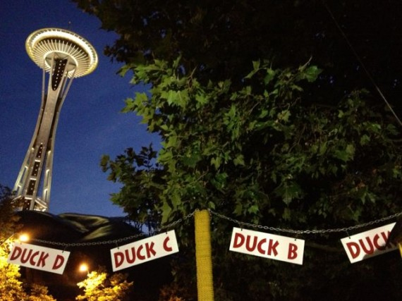 Space Needle and Ride the Ducks in Seattle