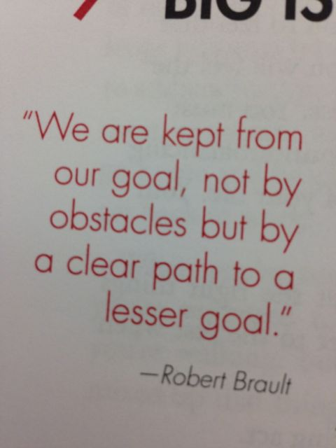good quote about goals and priorities