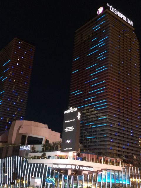 The Cosmopolitan is Las Vegas' newest Hotel and Casino