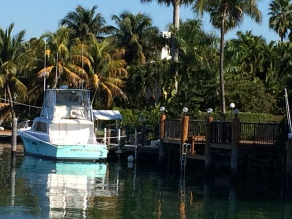 Boat called Jeff's Dream in Miami Beach boat dock