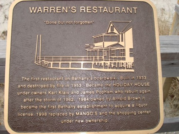 Historic place sign