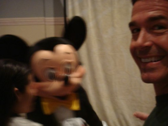 Mickey Mouse and jungle jeff