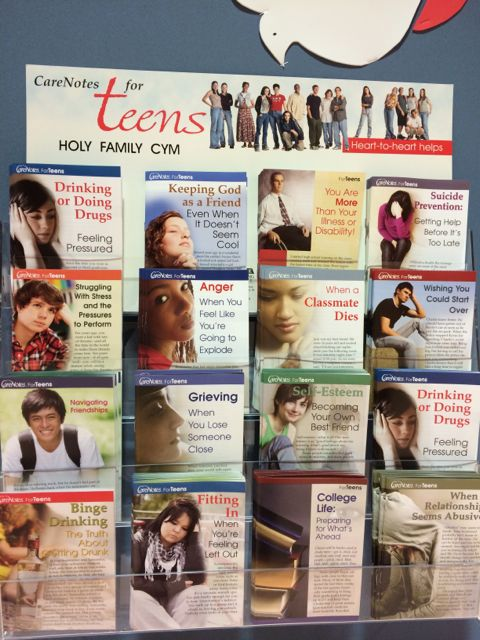 Church support offerings for troubled teens
