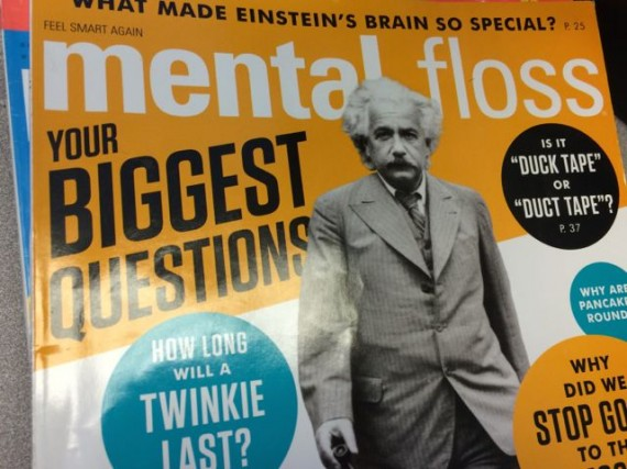 Mental Floss magazine cover