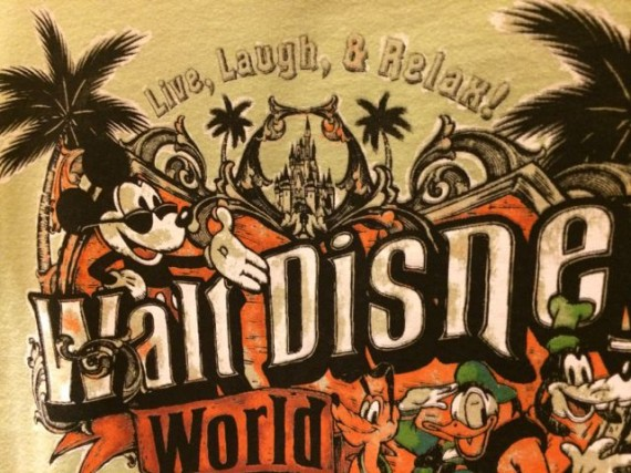 New Disney World tee shirt design