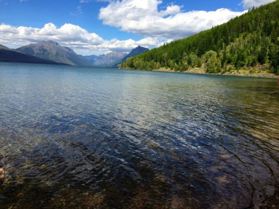 Lake McDonald from Apgar picnic area