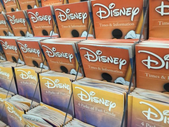 Disney brochure rack