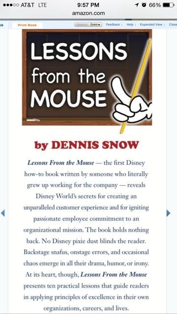 Unofficial books about Disney Business practices