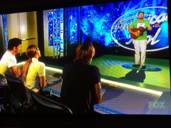American Idol audition photo