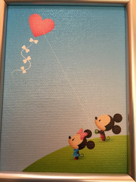 Mickey and Minnie advent garde art