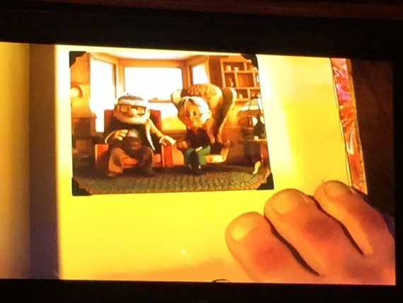 Screen shots from Disney Pixar movie UP