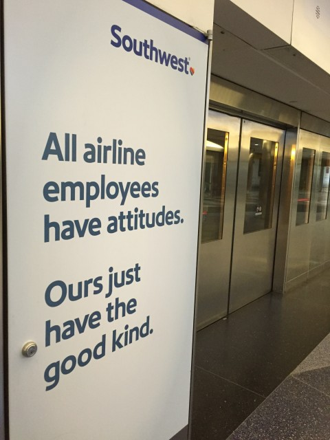 Southwest Airlines employee statement