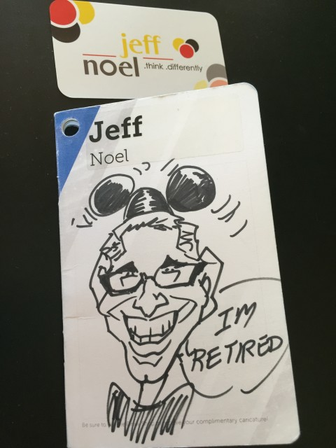 Disney speaker jeff noel caricature