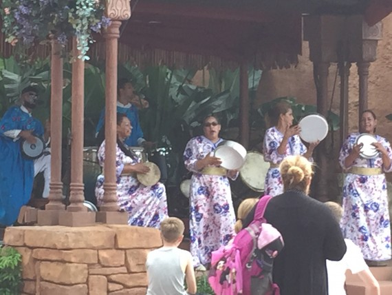 Epcot Morocco live music group