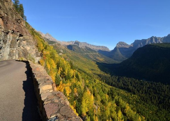 Glacier Park in early Fall