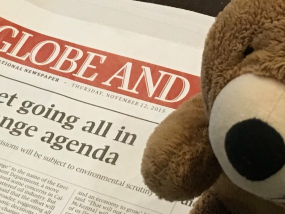 The Globe front page news