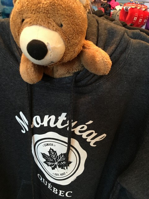 Teddy Bear in Montreal airport