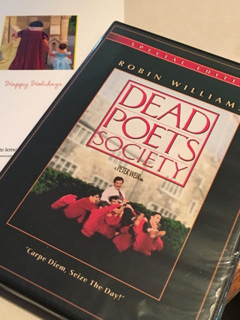 Dead Poets Society dvd photo