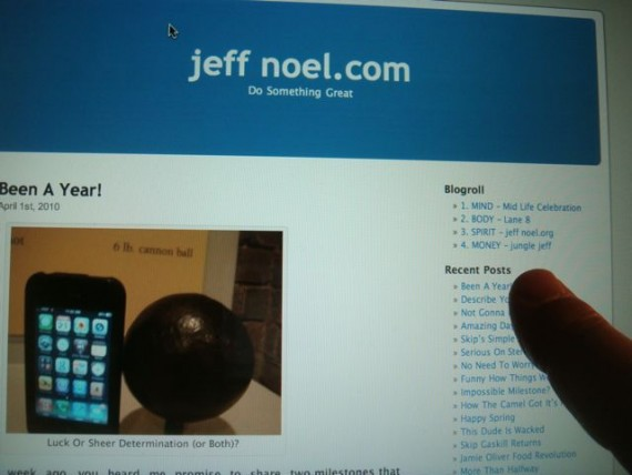 Prolific Blogger jeff noel from Disney