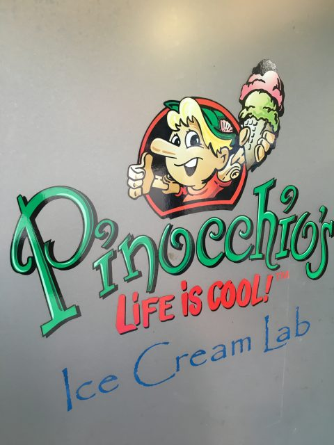Sanibel Island Pinocchio's Ice Cream