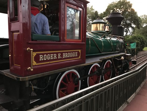 Roger Broggie Disney train
