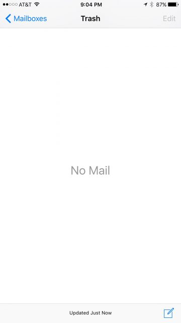 jeff noel's email management