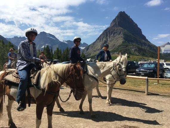 Many Glacier Horseback riding