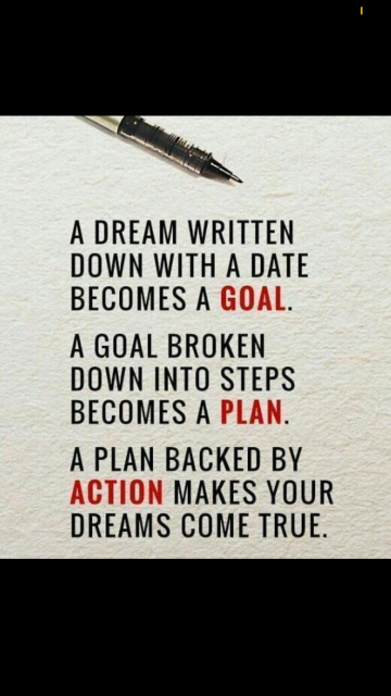 Dreams and action