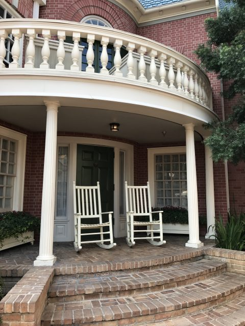 Rocking chairs at Hall of Presidents