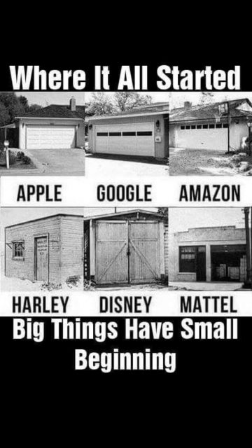 famous start up garages