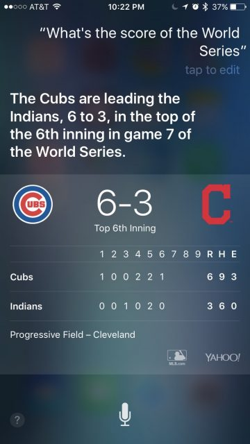 World Series 2016 game 7