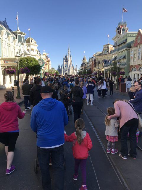 Main Street at Disney World