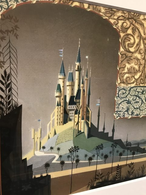 Castle art photo on Disney Dream